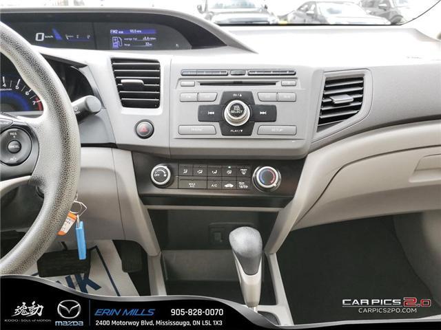 2012 Honda Civic LX (Stk: P4446) in Mississauga - Image 13 of 17