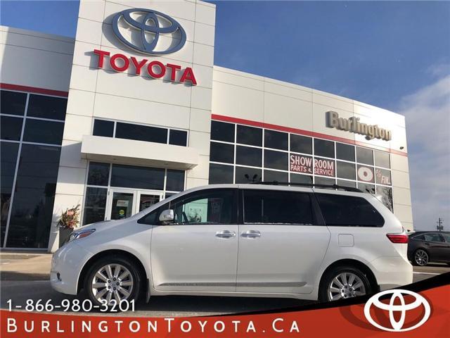 2015 Toyota Sienna XLE (Stk: U10519) in Burlington - Image 1 of 20