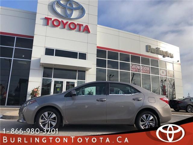 2015 Toyota Corolla  (Stk: U10514) in Burlington - Image 1 of 20
