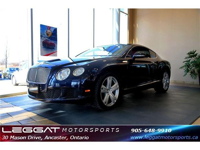 2012 Bentley Continental GT ONLY 33777 KMS (Stk: M237) in Ancaster - Image 1 of 18