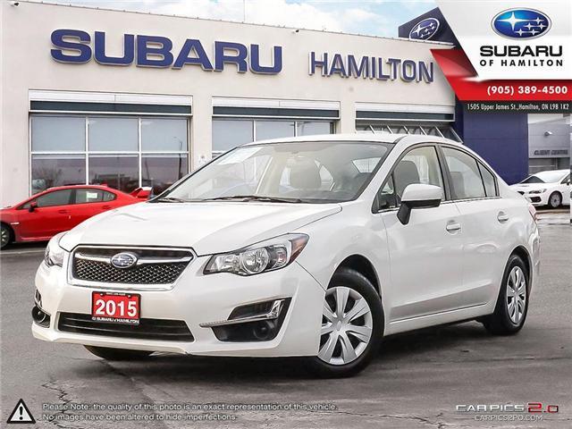 2015 Subaru Impreza 2.0i (Stk: S7264A) in Hamilton - Image 1 of 26