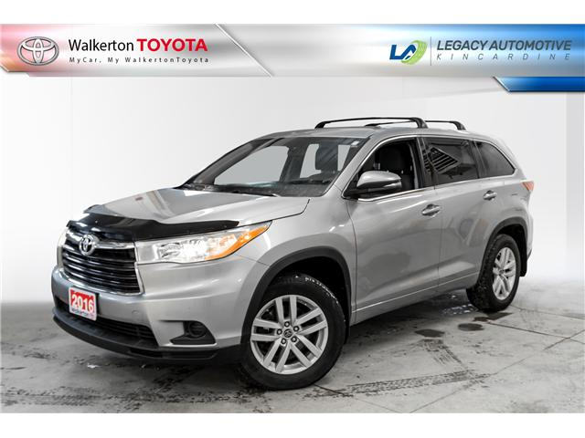 2016 Toyota Highlander LE (Stk: 19098A) in Walkerton - Image 1 of 12