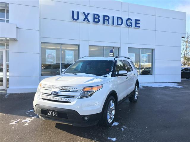 2014 Ford Explorer Limited (Stk: P1209) in Uxbridge - Image 1 of 10