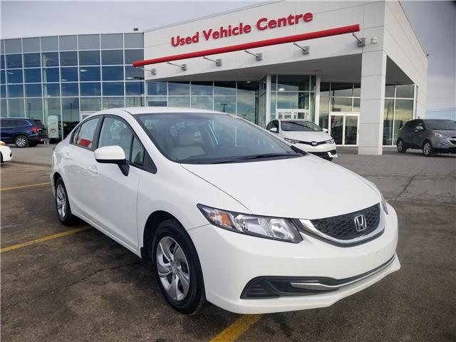2015 Honda Civic LX (Stk: U184396) in Calgary - Image 1 of 25