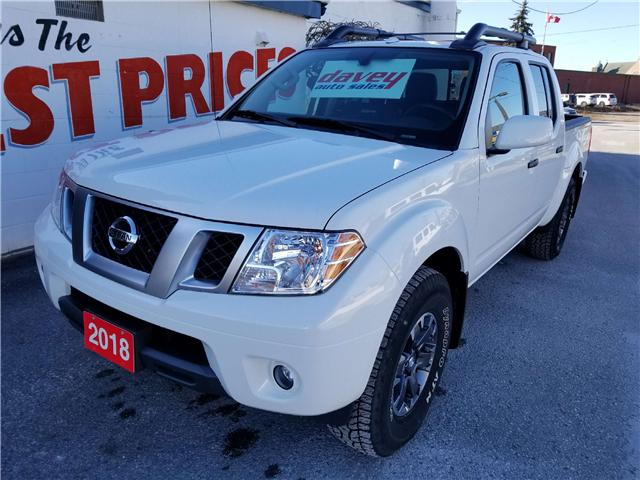 2018 Nissan Frontier PRO-4X (Stk: 19-009) in Oshawa - Image 1 of 16