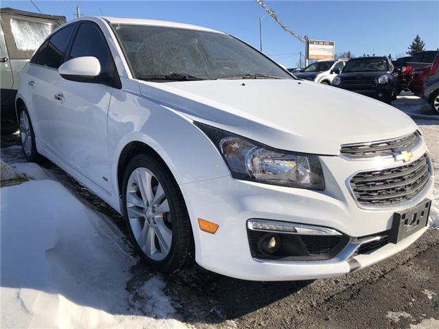 2015 Chevrolet Cruze LTZ (Stk: ) in Kemptville - Image 1 of 11