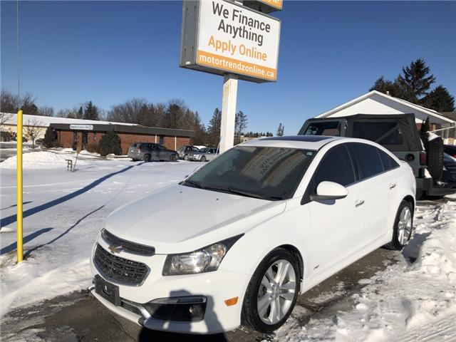 2015 Chevrolet Cruze LTZ (Stk: ) in Kemptville - Image 2 of 11