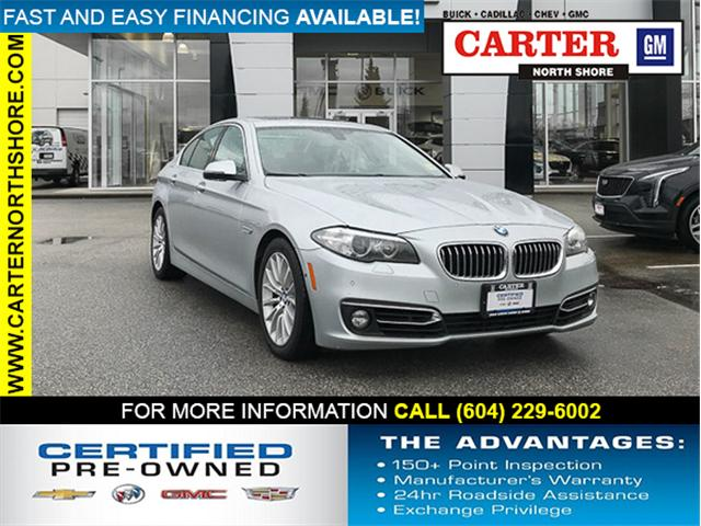 2015 BMW 528i xDrive (Stk: 971850) in North Vancouver - Image 1 of 28