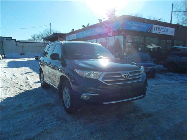 2013 Toyota Highlander V6 (Stk: 181775) in Kingston - Image 2 of 13