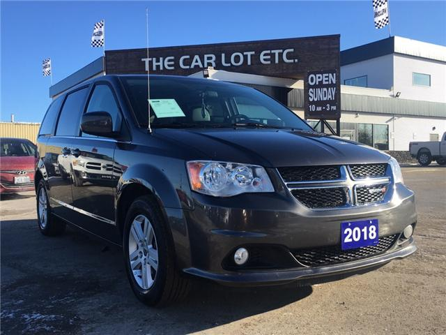 2018 Dodge Grand Caravan Crew (Stk: 19016) in Sudbury - Image 1 of 14