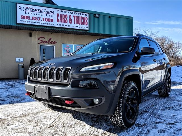 2016 Jeep Cherokee Trailhawk (Stk: ) in Bolton - Image 1 of 26