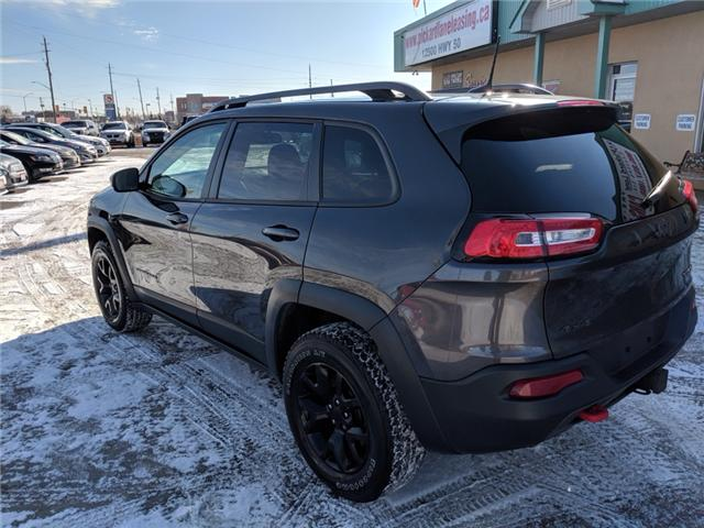 Jeep Interest Rates >> 2016 Jeep Cherokee Trailhawk at $19990 for sale in Bolton - Pickard Lane Leasing Ltd