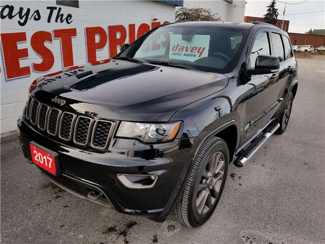 2017 Jeep Grand Cherokee Limited (Stk: 18-741) in Oshawa - Image 1 of 17