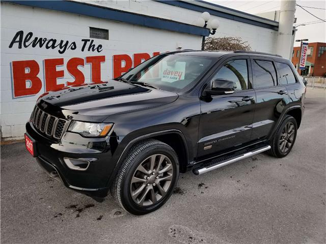2017 Jeep Grand Cherokee Limited (Stk: 18-741) in Oshawa - Image 3 of 17