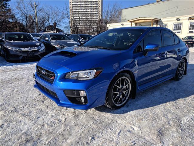2017 Subaru WRX STI Sport-tech JF1VA2Y64H9836298 836298 in Ottawa