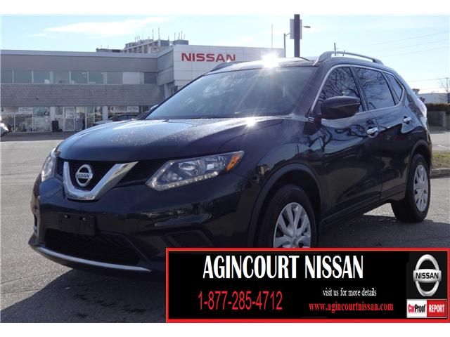 2016 Nissan Rogue S (Stk: U12373) in Scarborough - Image 1 of 19