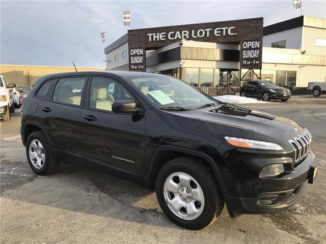 2015 Jeep Cherokee Sport (Stk: 19003) in Sudbury - Image 1 of 11