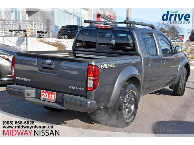 2018 Nissan Frontier PRO-4X (Stk: U1565R) in Whitby - Image 7 of 25