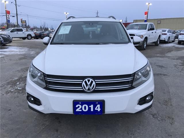 2014 Volkswagen Tiguan Trendline (Stk: 18377-1) in Sudbury - Image 2 of 11