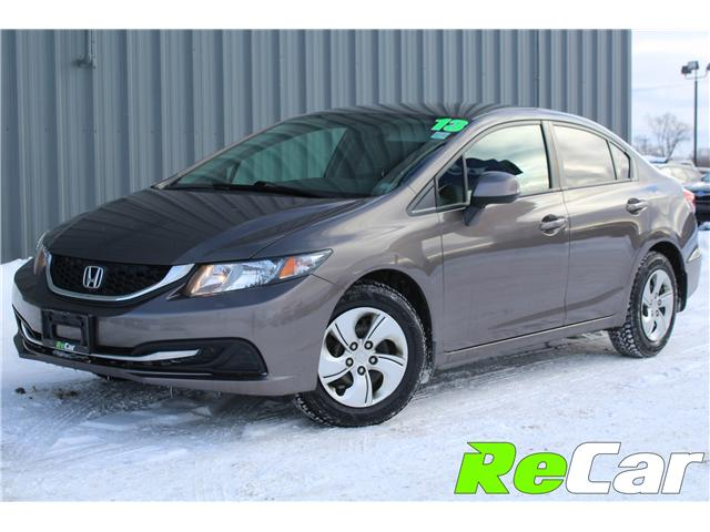 2013 Honda Civic LX (Stk: 190047A) in Fredericton - Image 1 of 21