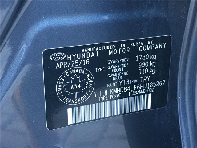 2017 Hyundai Elantra Limited Ultimate (Stk: H4112A) in Toronto - Image 30 of 30