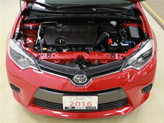 2016 Toyota Corolla LE (Stk: 186527) in Kitchener - Image 25 of 28