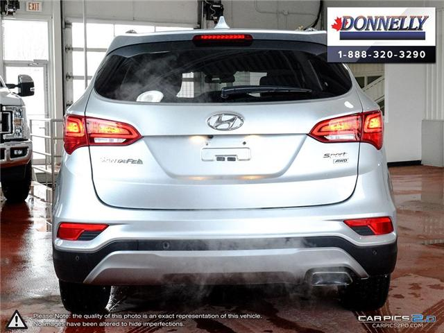 2018 Hyundai Santa Fe Sport  (Stk: PLDUR5998) in Ottawa - Image 5 of 28