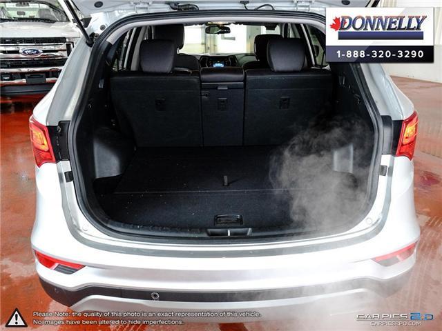 2018 Hyundai Santa Fe Sport  (Stk: PLDUR5998) in Ottawa - Image 10 of 28