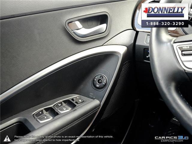 2018 Hyundai Santa Fe Sport  (Stk: PLDUR5997) in Ottawa - Image 16 of 28