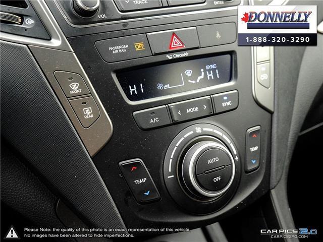 2018 Hyundai Santa Fe Sport  (Stk: PLDUR5997) in Ottawa - Image 21 of 28