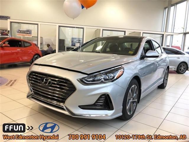 2018 Hyundai Sonata Hybrid Limited (Stk: SH84339) in Edmonton - Image 1 of 6