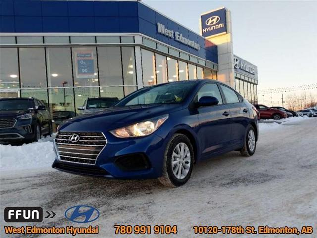 2018 Hyundai Accent GL (Stk: E4235) in Edmonton - Image 1 of 22