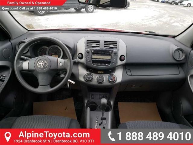 2009 Toyota RAV4 Base V6 (Stk: X091333N) in Cranbrook - Image 10 of 19