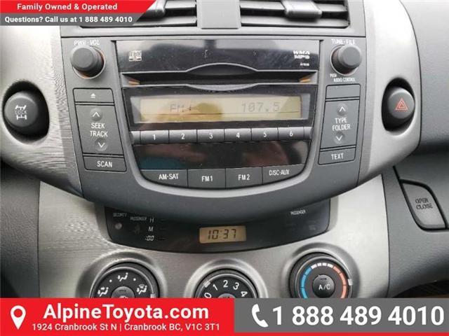 2009 Toyota RAV4 Base V6 (Stk: X091333N) in Cranbrook - Image 13 of 19