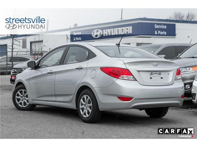 2014 Hyundai Accent  (Stk: P0616) in Mississauga - Image 4 of 17