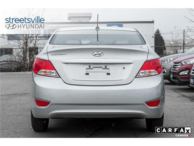 2014 Hyundai Accent  (Stk: P0616) in Mississauga - Image 6 of 17