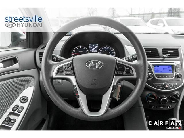 2014 Hyundai Accent  (Stk: P0616) in Mississauga - Image 9 of 17