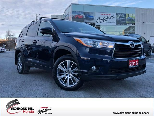 2016 Toyota Highlander  (Stk: 190241P) in Richmond Hill - Image 1 of 23