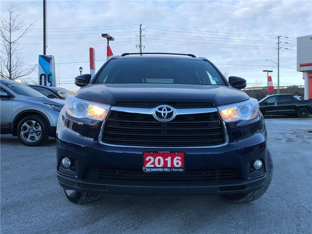 2016 Toyota Highlander  (Stk: 190241P) in Richmond Hill - Image 2 of 23