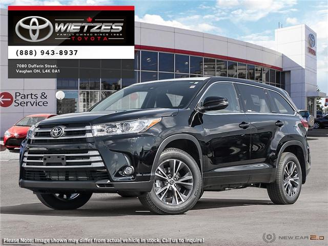 2019 Toyota Highlander LE AWD (Stk: 67966) in Vaughan - Image 1 of 24