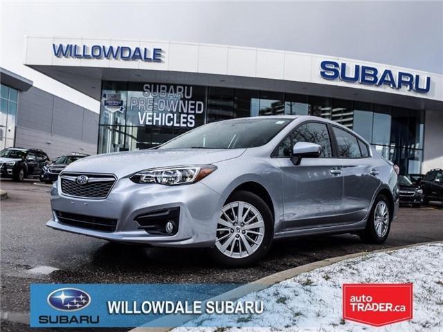 2018 Subaru Impreza Touring | AWD | RIMS | BLUETOOTH | HEATED SEATS (Stk: 18D37) in Toronto - Image 1 of 26