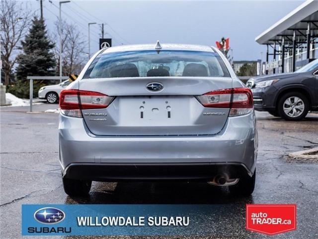 2018 Subaru Impreza Touring | AWD | RIMS | BLUETOOTH | HEATED SEATS (Stk: 18D37) in Toronto - Image 4 of 26