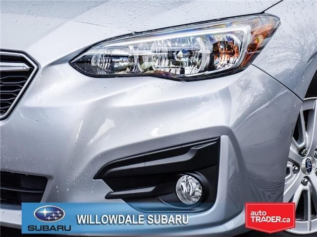 2018 Subaru Impreza Touring | AWD | RIMS | BLUETOOTH | HEATED SEATS (Stk: 18D37) in Toronto - Image 7 of 26