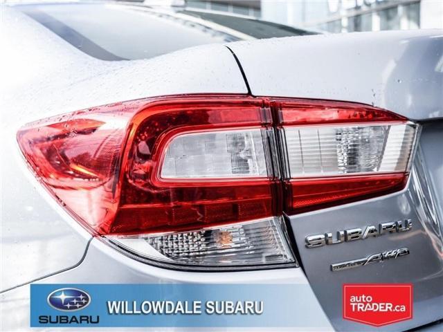 2018 Subaru Impreza Touring | AWD | RIMS | BLUETOOTH | HEATED SEATS (Stk: 18D37) in Toronto - Image 8 of 26