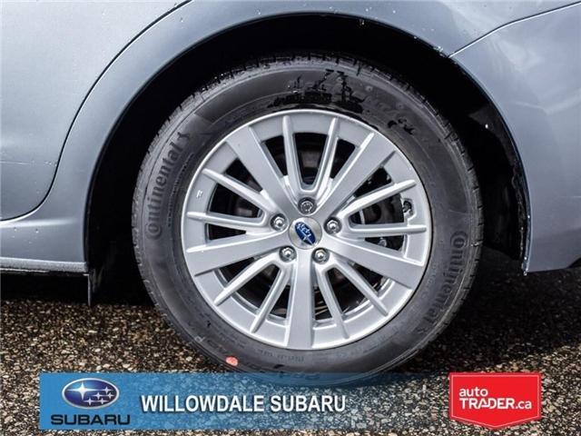 2018 Subaru Impreza Touring | AWD | RIMS | BLUETOOTH | HEATED SEATS (Stk: 18D37) in Toronto - Image 9 of 26