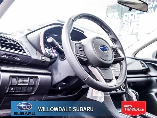 2018 Subaru Impreza Touring | AWD | RIMS | BLUETOOTH | HEATED SEATS (Stk: 18D37) in Toronto - Image 12 of 26