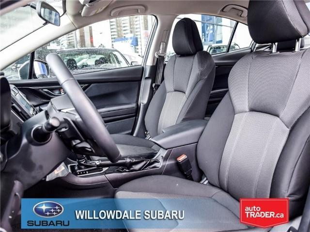 2018 Subaru Impreza Touring | AWD | RIMS | BLUETOOTH | HEATED SEATS (Stk: 18D37) in Toronto - Image 13 of 26