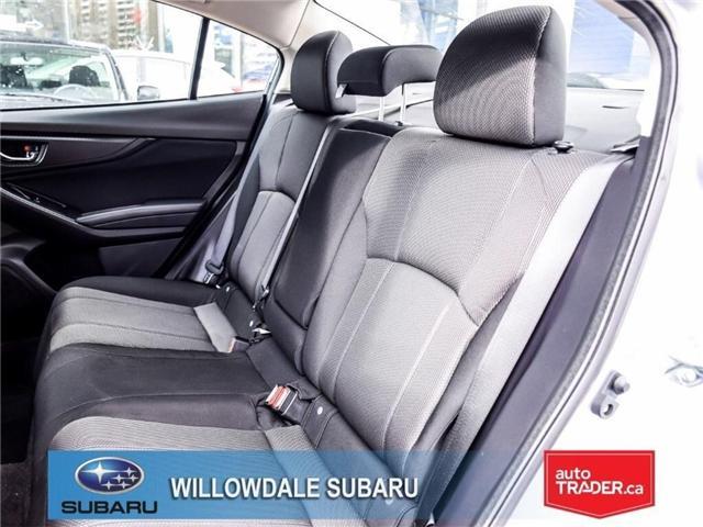 2018 Subaru Impreza Touring | AWD | RIMS | BLUETOOTH | HEATED SEATS (Stk: 18D37) in Toronto - Image 14 of 26