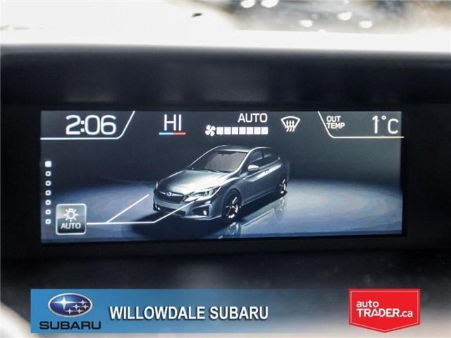 2018 Subaru Impreza Touring | AWD | RIMS | BLUETOOTH | HEATED SEATS (Stk: 18D37) in Toronto - Image 17 of 26