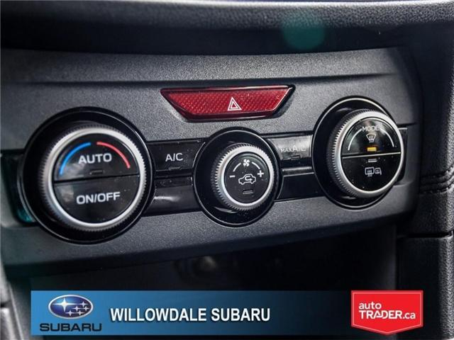2018 Subaru Impreza Touring | AWD | RIMS | BLUETOOTH | HEATED SEATS (Stk: 18D37) in Toronto - Image 21 of 26